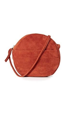 Rust Suede Bag, $108