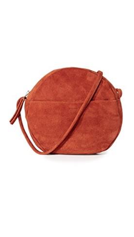 Rust Suede Bag, $108