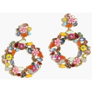 Floral hoops, $65