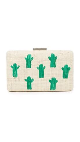 Kayu Cactus Clutch, $103