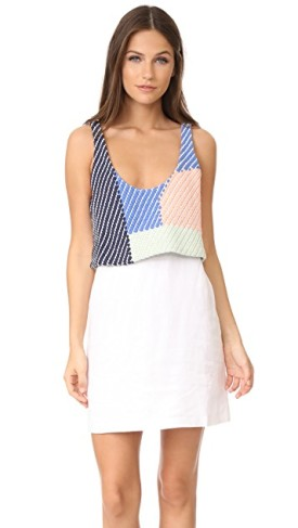 Mara Hoffman Mini Dress, $98