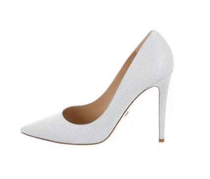 DVF White Pumps