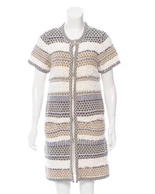 DVF Textured cardigan