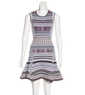 DVP Printed Mini Dress
