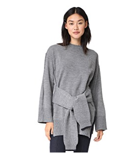J.O.A. Front-tie Sweater, $53