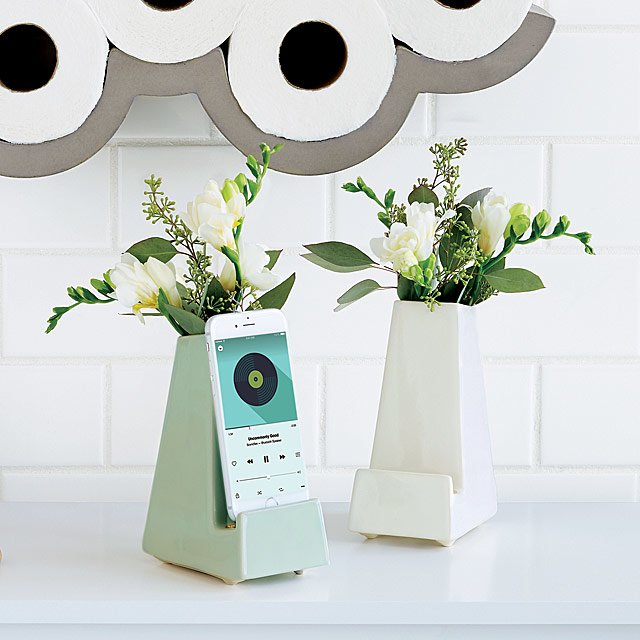 Perfect Last Minute Gift: Smartphone Vases