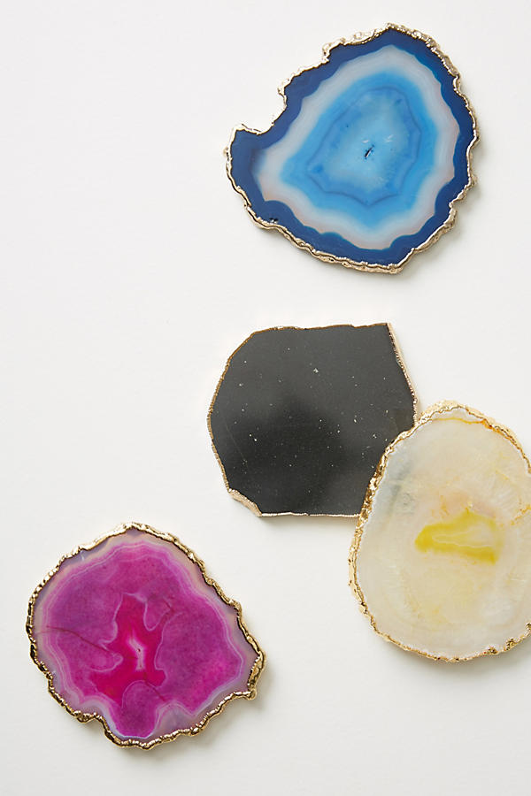 Perfect Last Minute Gift: Geode Coasters from Anthropologie