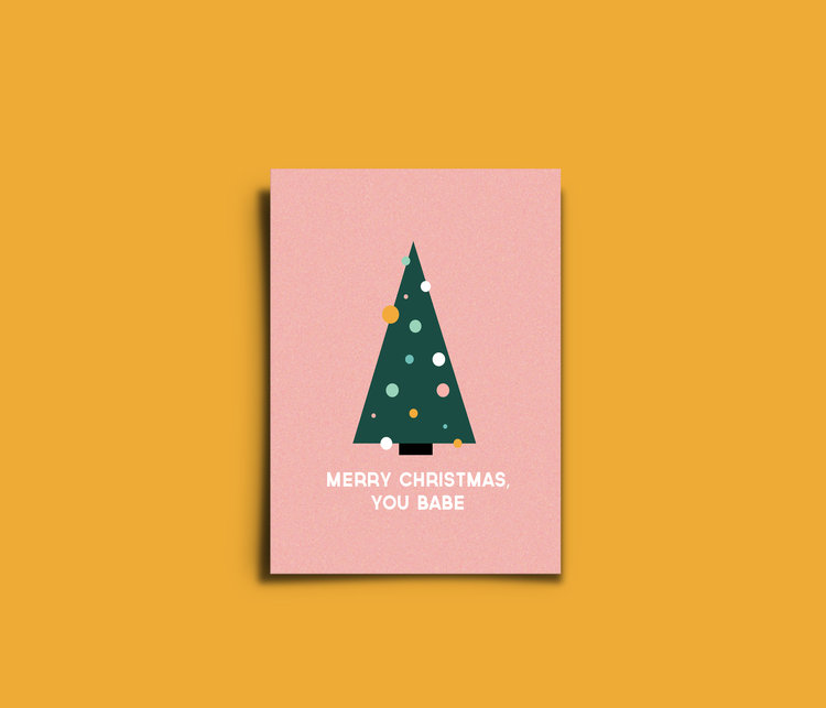 Feminist Christmas Cards by Arsh Raziuddin