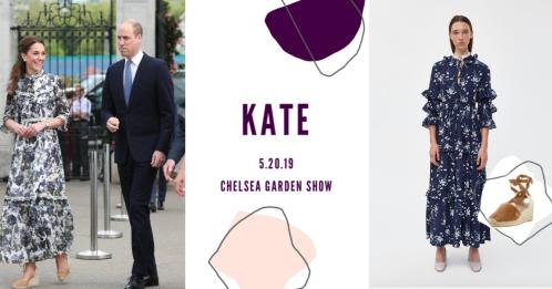 DuchessKateChelseaGardenShow